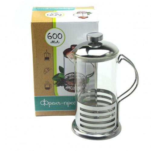 Френч-пресс №СН-600PG для чая 600мл (40)