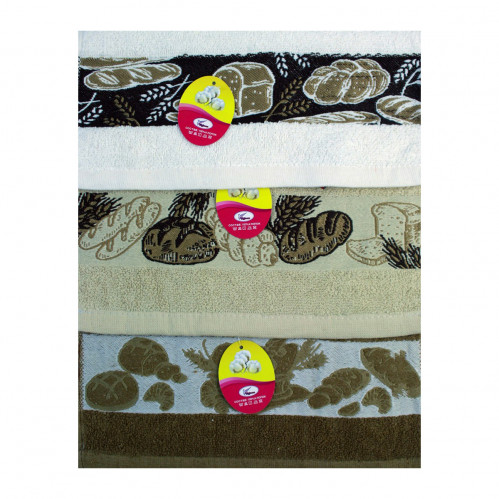 Полотенце №95-37-600 кухонное махровое