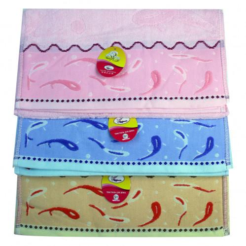 Полотенце №653-31-336 кухонное махровое