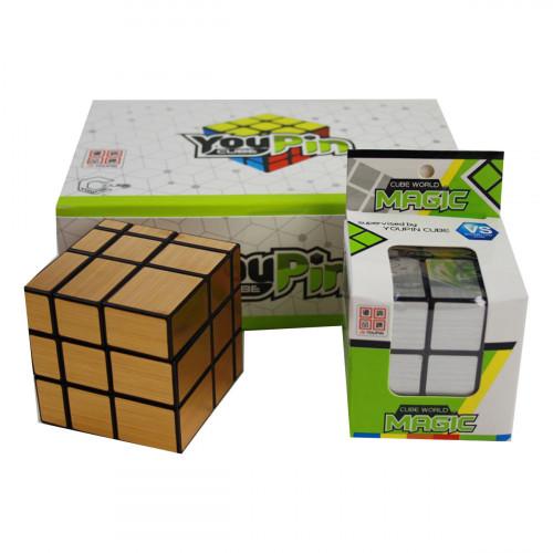 Игрушка №072 кубик пл. 6шт в кор. (288)