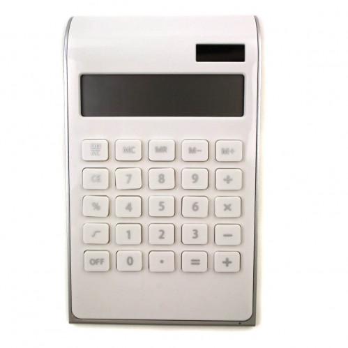 Калькулятор №2236 12цифр 1AG10 с функц. настоящ. солнеч. бел. цв. (60)