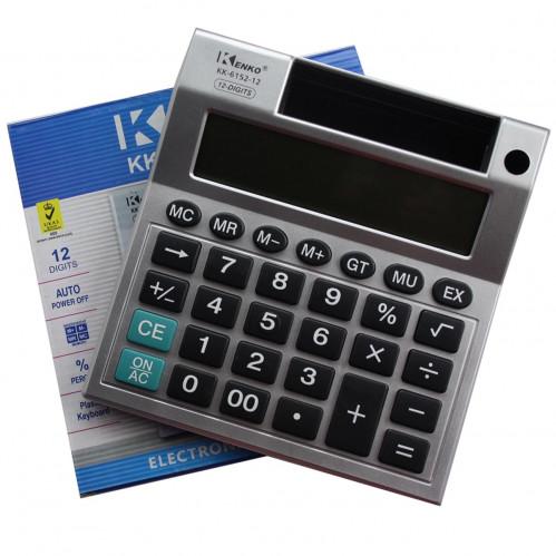 Калькулятор №KK6152-12 12цифр 1R6 (17*16*3.7)см (60)