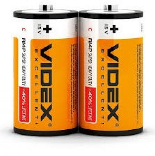 Батарейка R14 Videx (480)