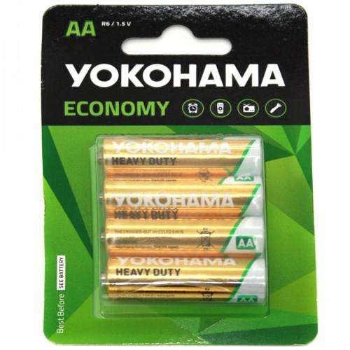 Батарейка R6 Yokohama на блистере 4шт (BL-4) (80)