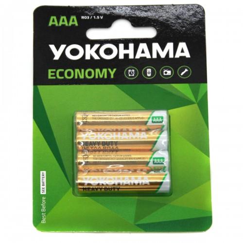 Батарейка R3 Yokohama на блистере 4шт (BL-4) (80)