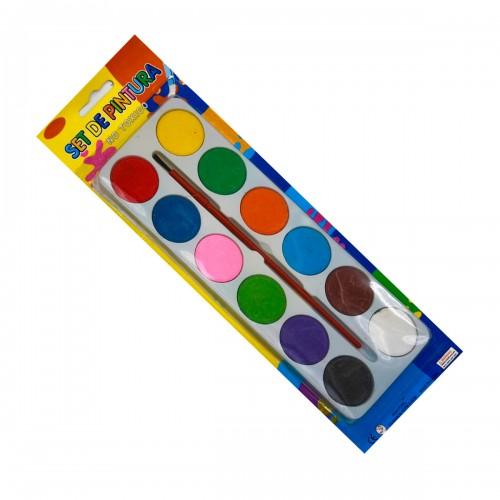 Краски №30229 (М993) акварельные на блистере 12цветов (288)
