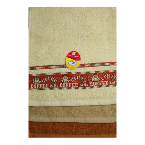 Полотенце №95-92-600  кухонное  махровое