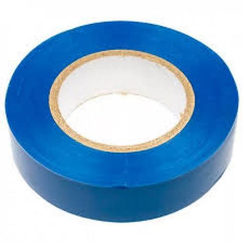 Изолента №Т-20-М 20м точный размер синяя в упак. 16шт (256)