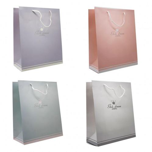 Пакет №6820L подарочный бумажный L (26*32*12)см (240)