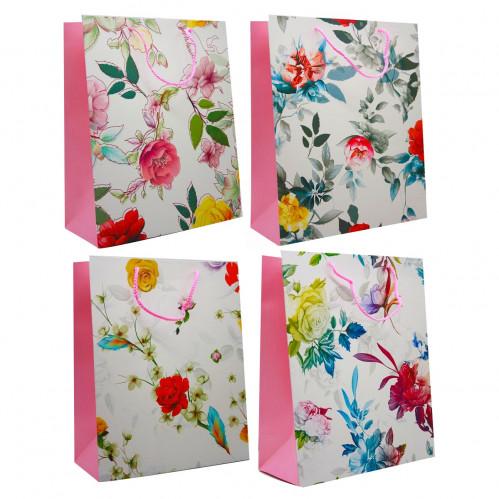 Пакет №1905L подарочный бумажный L (26*32*12)см (240)