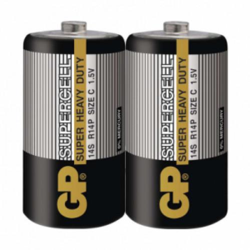 Батарейка R14 GP SUPERCELL серая (480)