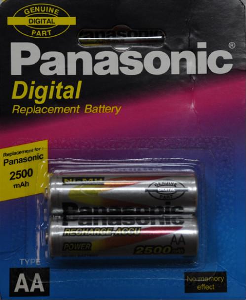 Аккумулятор HHR-3UPU/2B AA 2500mA Panasonic в упак. (16бл*2шт) (32)