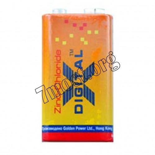 Батарейка 6F22 X Digital Longlife (500/10)