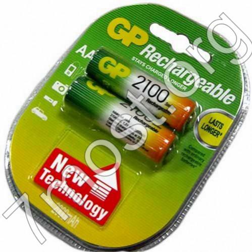 Аккумулятор AA GP2100 (200/20/2)
