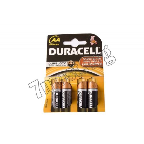 Батарейка LR06 Duracell 4шт plus power (80)