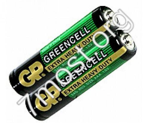 Батарейка R03 GP GREENCELL зелёная (1000/40)