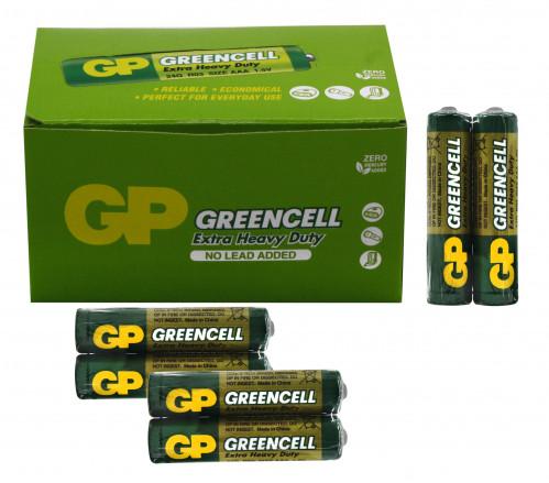Батарейка R03 GP GREENCELL зелёная в спайке 2шт.  (1000/40)