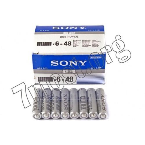 Батарейка R03 Sony кор.8 (240/48)