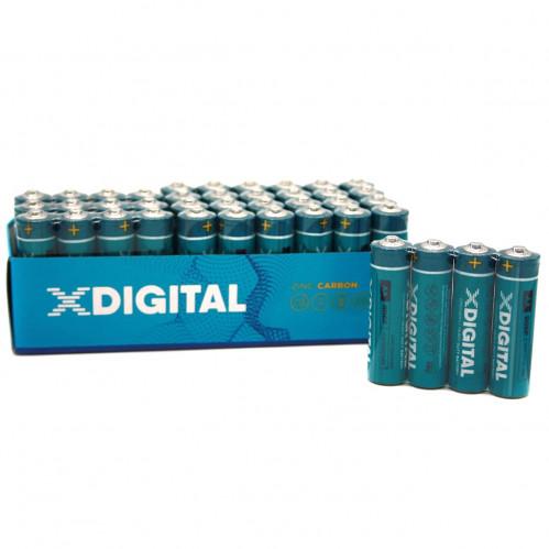 Батарейка R03 X Digital Longlife в спайке 4шт. уп.48шт (2400/48)