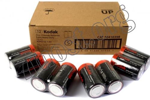 Батарейка R20 Kodak кор.2 (288/24)
