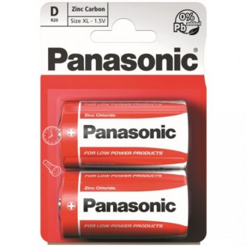 Батарейка R20 Panasonic spec. бл2 (120/24)