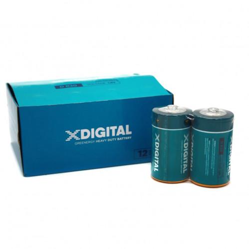 Батарейка R20 X Digital Longlife кор2 в упак. 12шт (288/12)