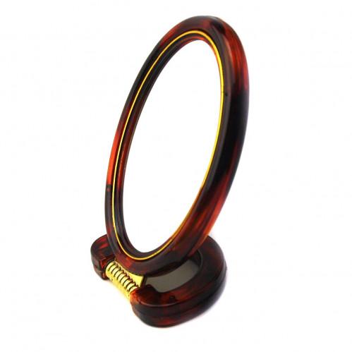 Зеркало №М1-430-5 (№430-5) 2стор с увел. овал. кор. маленькое (144)