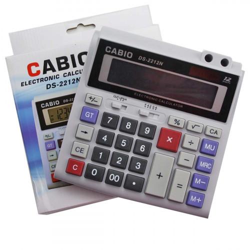 Калькулятор №2212N 12цифр 1R6 с функц. настоящ. солнеч. сер. цв.с включ. (40)