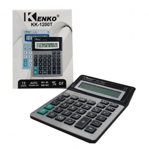 Калькулятор №1200 с прозр. кноп.(15*19)см  (90)