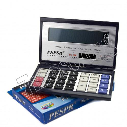 Калькулятор №PS-680 12цифр открыт.-закрыт. 2R3 (80)