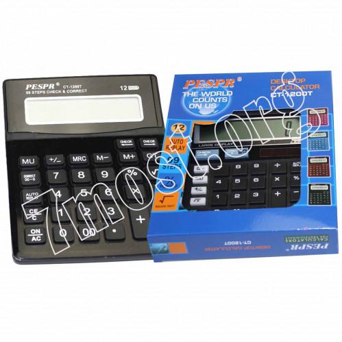 Калькулятор №CT-1200Т 12цифр 4цв 1R6 (80)