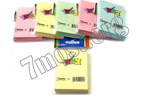 Клейкая бумага №А3 4цв сред. (76*76)мм (600)