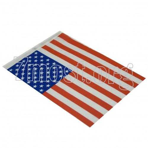 Флаг №CYZ-008 14*21см США (8000)