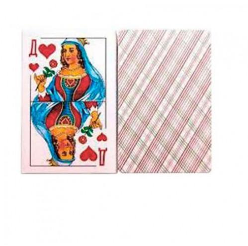 Карты 36Д Дама бумажные 36шт №9811 (120)