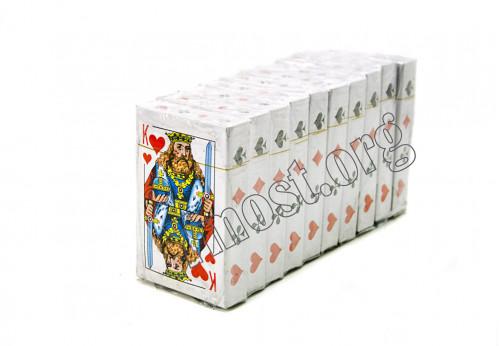 Карты 54 К Король бумажные №9810 (100)