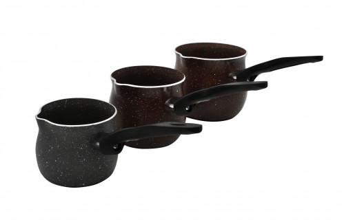 Кофеварка метал. с пл. руч. 9д (50)