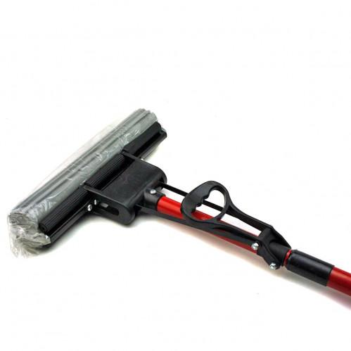 Швабра №6013 металопл. с раздв. ручкой и губ. (6*27*104)см (40)