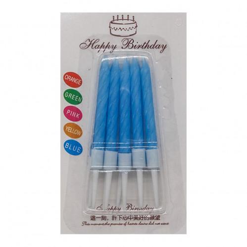 Свечи №ВС010 с подст. пл. 10шт в пачке на листе (600)