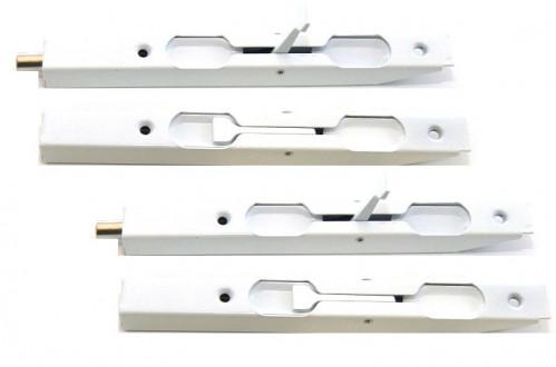 Шпингалет №3053WW желез бел (300)