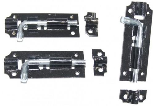 Шпингалет №85-27-1 желез чёр (600)
