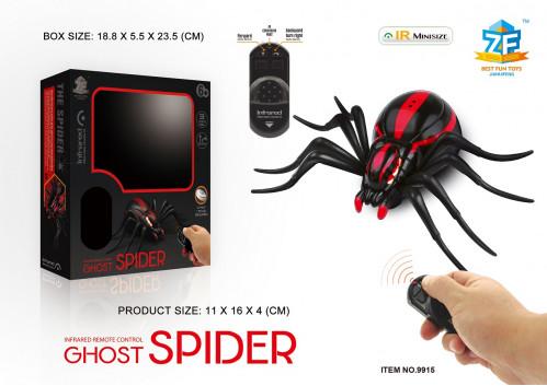 Игрушка  паук на радиоуправлении  и светящийся №9915 (72)