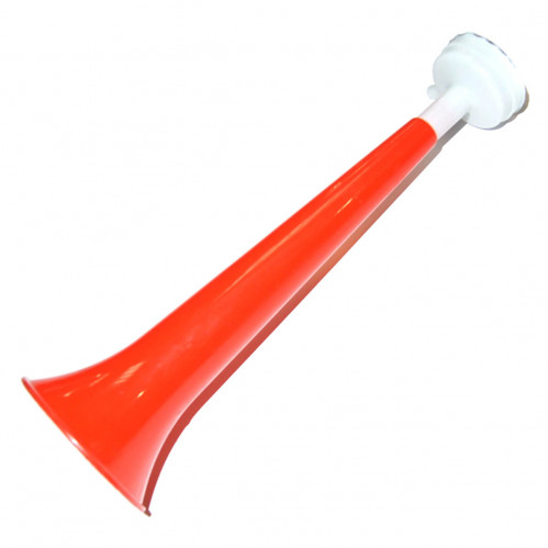 Игрушка №28 свисток громкий пл. длина 28см д.-8,2см (700)