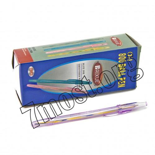 Ручка шариковая №ВХ-800 фиал (2880/120)
