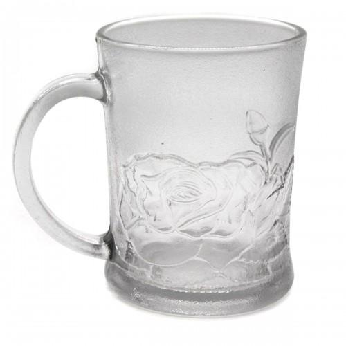 Чашка №0909 роза стекл. мал. (120)