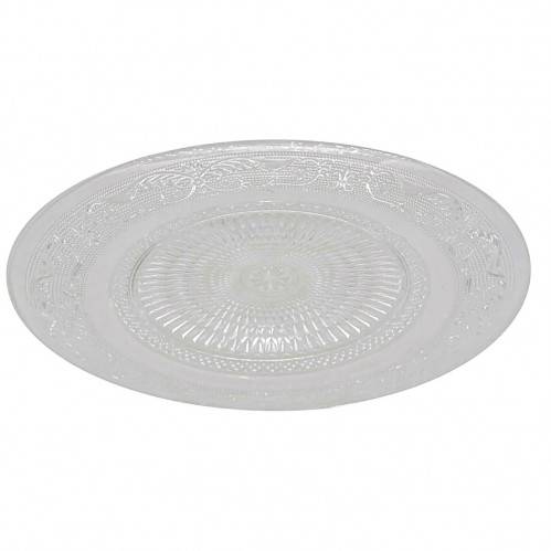 Тарелка №РМ-7 стеклян. круглая 7д 6шт в кор. (60)