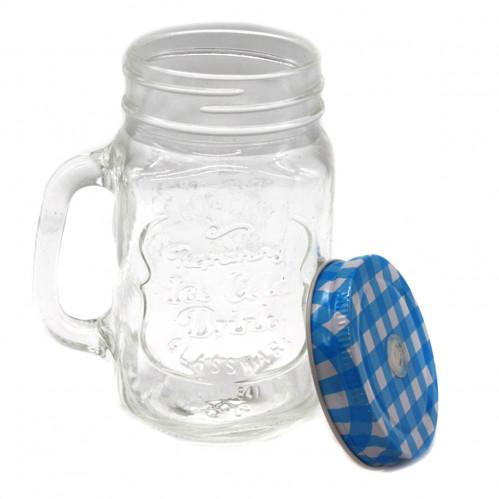 Чашка №1841 стеклян. прозр. с трубкой (48)