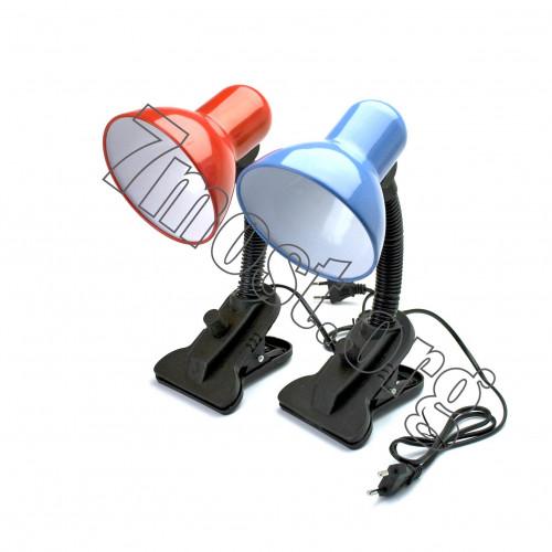 Лампа №108В настол. с прищепкой (72)