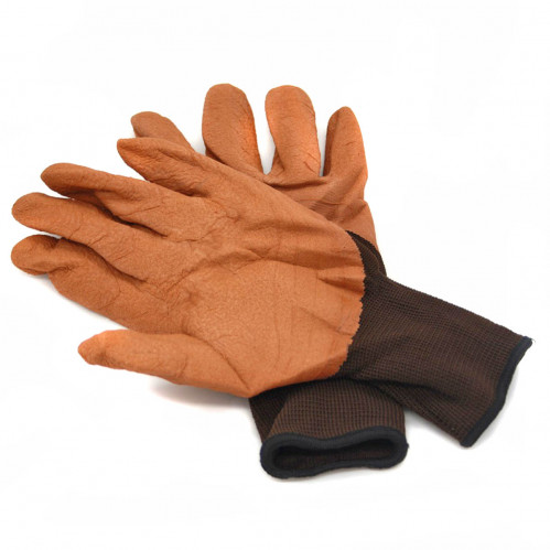 Перчатки №Х-1 нейлон. корич. (720)