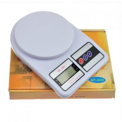 Весы №SF400-1 (№SF-400) цифр. пл. без чашки кух. ов. (4*16,7*23,8)см в кор. 7кг (40)