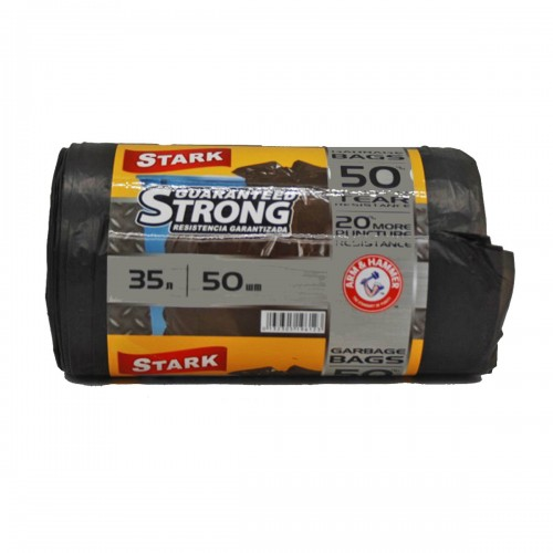 Пакет Stark №35*50 чёрный 35л в рул. 50шт (30)